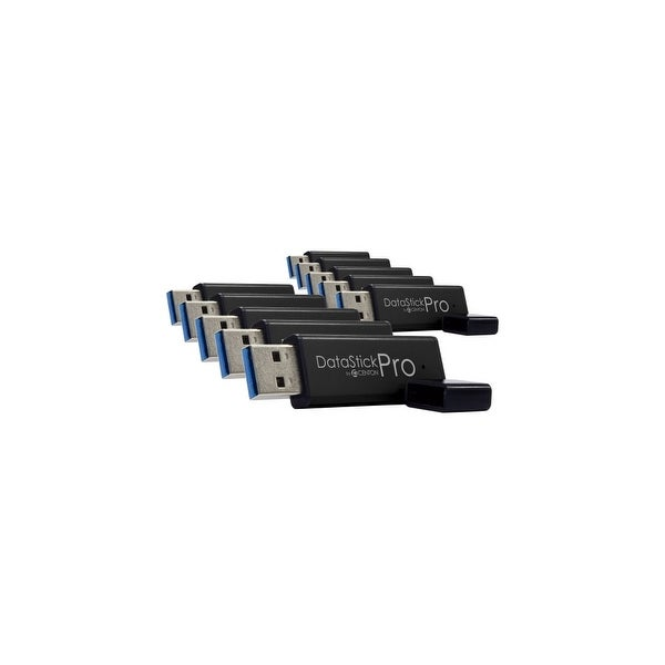 Centon S1-U3P6-16G-10B Centon MP ValuePack USB 3.0 Pro (Black) , 16GB x 10 - 16 GBUSB 3.0 - Black - 10 Pack
