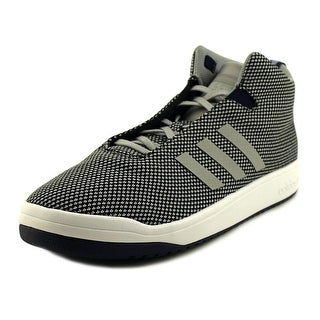 Adidas Veritas Mid  Men  Round Toe Synthetic Gray Sneakers