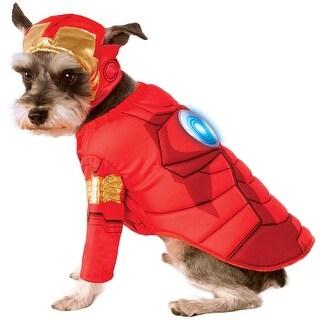 Marvel: Avengers Assemble Deluxe Iron Man Pet Costume