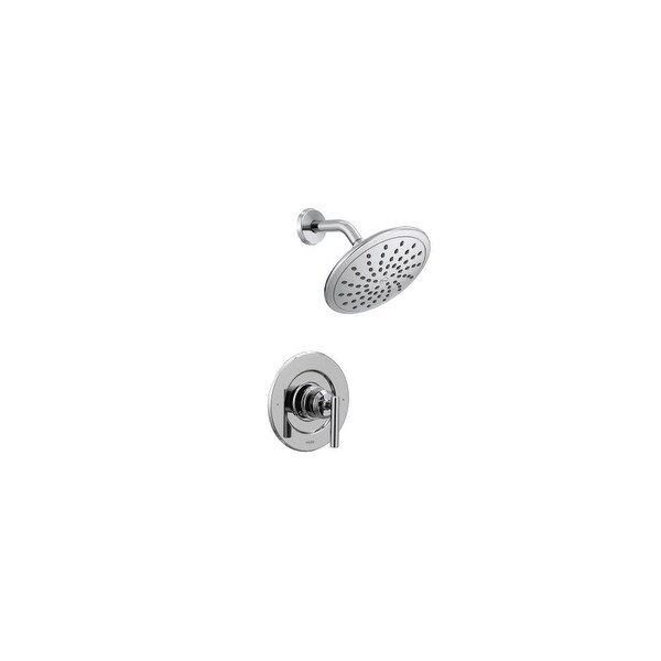 Shower Faucet.Moen T3002ep Gibson Shower Faucet With Single Handle And Posi Temp Technology