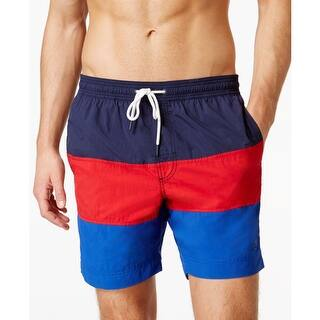 Tommy Hilfiger Mens Big & Tall Board, Surf Shorts Colorblock Flat Front - 4xb|https://ak1.ostkcdn.com/images/products/is/images/direct/689c8d5aeebf0f65ee85136b88a34966c25717c4/Tommy-Hilfiger-Mens-Big-%26-Tall-Board%2C-Surf-Shorts-Colorblock-Flat-Front.jpg?impolicy=medium