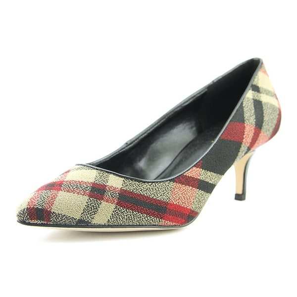 Nine West Xeena Women Pointed Toe Canvas Heels