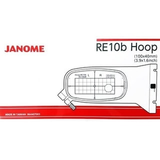 "Janome RE10B 1.5"" x 5.5"" Embroidery Hoop fits MC500E and MC400E - 1"" x 1"" x 1"""