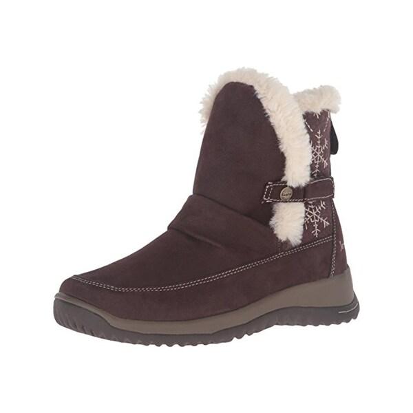 Jambu Womens Sycamore Winter Boots Nubuck Faux Fur