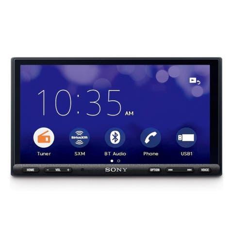 """Sony XAV-AX7000 6.95"""" Apple CarPlay & Android Auto Digital Media Receiver - Black"""
