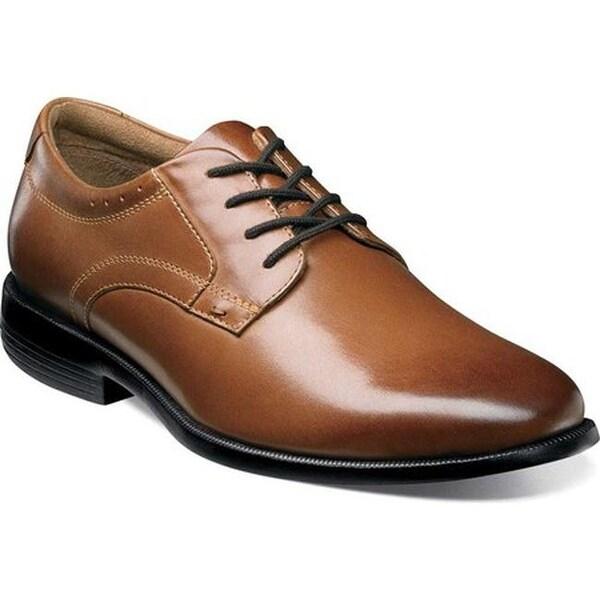 Shop Nunn Bush Men S Devine Plain Toe Oxford Cognac