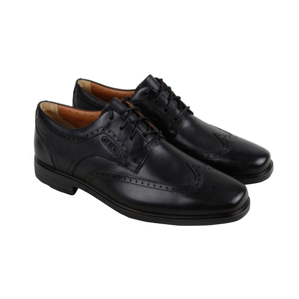 Wing Mens Black Casual Leather Up Unbrylan Dress Lace Clarks Shop ZOlkuTXwPi