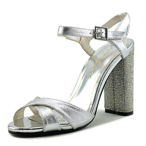 Caparros Womens hayley Open Toe Special Occasion Ankle Strap Sandals