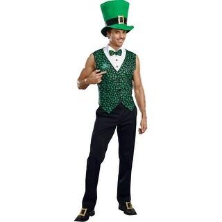 Irish U Were Naked Men's Leprechaun Costume