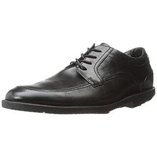 Rockport Mens Leather Lace Up Oxfords - 11.5 medium (d)