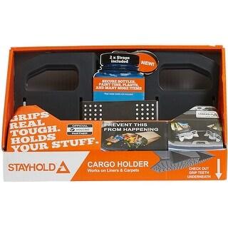 Stayhold(Tm) Sidekick Modular Cargo Organizer Starter Pack-Gray; 2 Sidekick Organizers & 2 Straps
