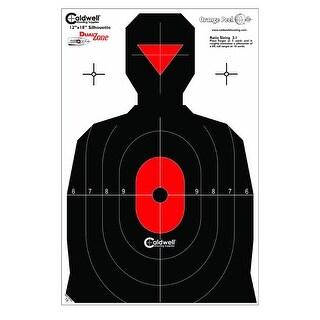 Caldwell 308214 caldwell 308214 silhouette dual zone target 8pk