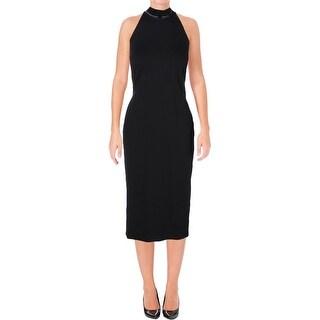 Ralph Lauren Womens Formal Dress Beaded Cut Away