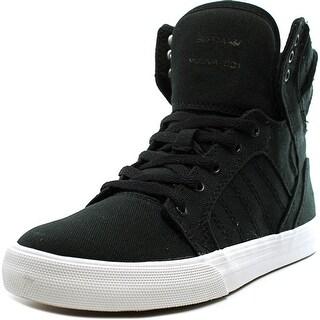 Supra Skytop Boy Black-White Athletic Shoes