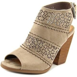 Not Rated Girl B Flossin Women Open-Toe Canvas Slingback Sandal