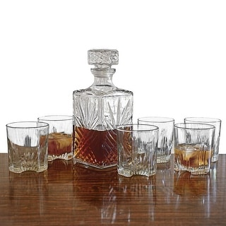 Link to Sparta Whiskey Decanter and Glasses, 7-Piece Set Similar Items in Glasses & Barware