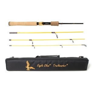 Eagle Claw Trailmaster Spinning Rod 4 Piece 6ft 6in Medium - TMM66S4