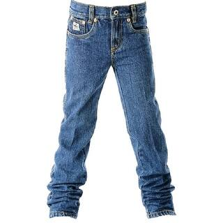 Cinch Western Denim Jeans Boys Slim 5 Pocket Basic MB10081001|https://ak1.ostkcdn.com/images/products/is/images/direct/68a5ac260cae8077415c1ccb984a76efca667c7b/Cinch-Western-Denim-Jeans-Boys-Slim-5-Pocket-Basic-MB10081001.jpg?impolicy=medium