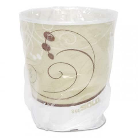 Symphony Trophy Plus Dual Temperature Cup, 9 Oz,Individual Wrapped - Multi