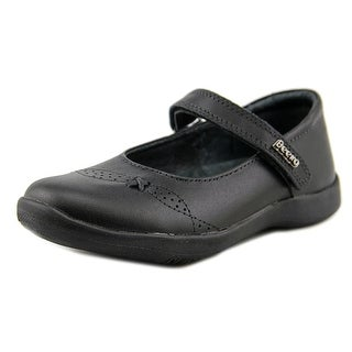 Beeko Charlotte Round Toe Leather Mary Janes