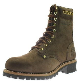 Shop Caterpillar Mens Logger 9 Quot Work Boots Leather Steel
