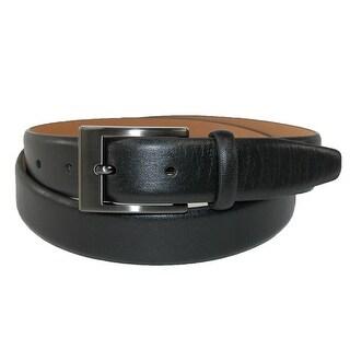 Geoffrey Beene Men's Leather Soft Touch Dress Belt - Black