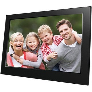"""Naxa NF-900 Naxa 9"" Digital Photo Frame - 9"" LED Digital Frame - Black - 800 x 480 - Cable - JPEG - Slideshow, Clock,"