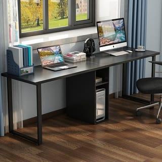 Shop Deluxe Loft Style L Shaped Computer Desk Free