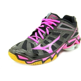 Mizuno Wave Lightning RX3 Women  Round Toe Synthetic Black Running Shoe