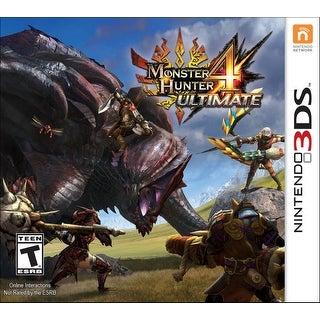 Monster Hunter 4 Ultimate - Nintendo 3DS (Refurbished)