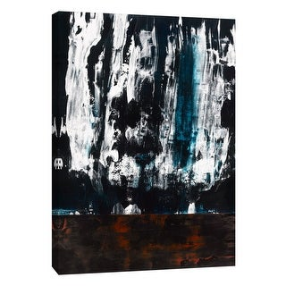 "PTM Images 9-105285  PTM Canvas Collection 10"" x 8"" - ""Squeegeescape 21"" Giclee Abstract Art Print on Canvas"