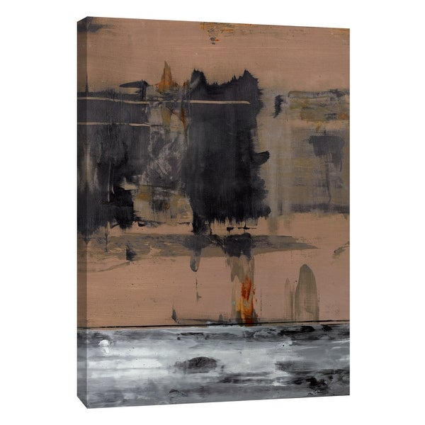 """PTM Images 9-105295 PTM Canvas Collection 10"""" x 8"""" - """"Squeegeescape 3"""" Giclee Abstract Art Print on Canvas"""