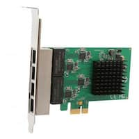 Syba  4 Port Gigabit Ethernet PCI-E x1 Network Interface Card