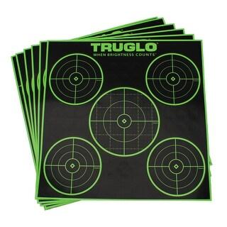 Truglo tg11a6 truglo tg11a6 target 5-bull 12x12 6pk