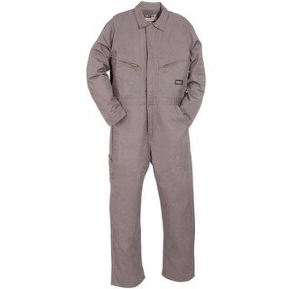 Berne Mens Flame Reistant Twill Coveralls