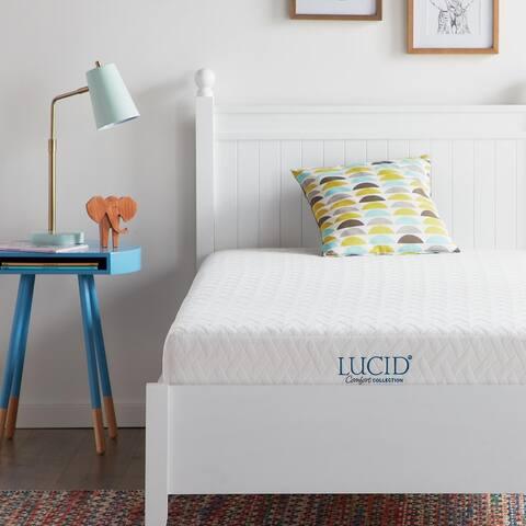LUCID Comfort Collection 6-inch Gel Memory Foam Mattress