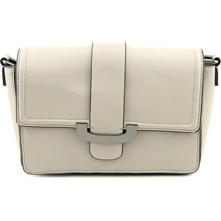 French Connection Ellen Crossbody Synthetic Messenger - gray