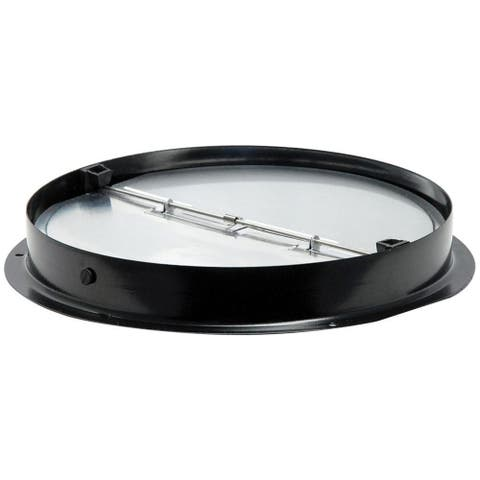 """Air King ARD7R Steel Round Collar with Aluminum Back Draft Damper, 7"""""""