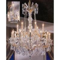 Swarovski Crystal Trimmed Maria Theresa Chandelier