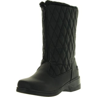 Totes Womens Quilty Fashion Waterproof Snow Boots