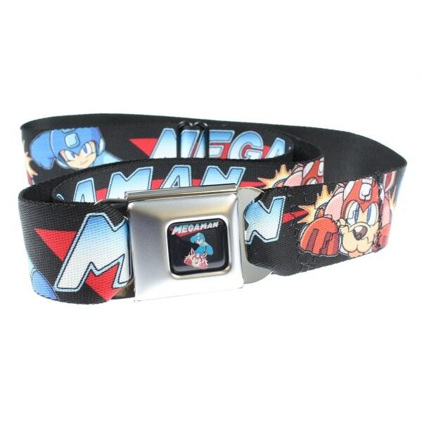 Mega Man & Rush Action Seatbelt Belt-Holds Pants Up