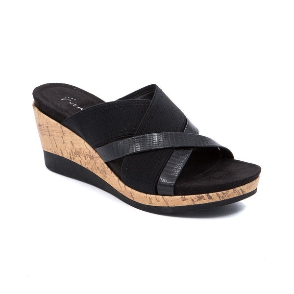 Wear.Ever. Goldy Women's Sandals & Flip Flops Black