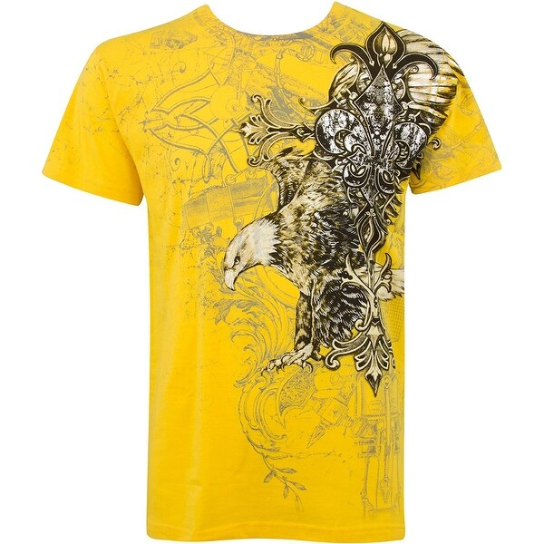548447e9 Konflic NWT Men's Flying Eagle Graphic Designer MMA Muscle T-shirt