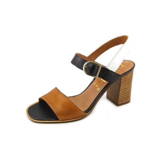 Nicole Bonny Open Toe Leather Sandals