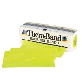 Thera-Band Latex Exercise Bands - 6 Yard Lengths