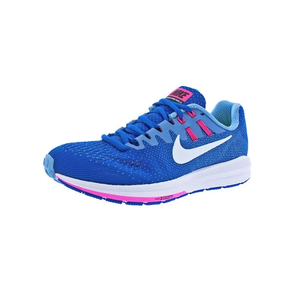Nike Womens Air Zoom Structure 20 Running Shoes Lightweight Fitness