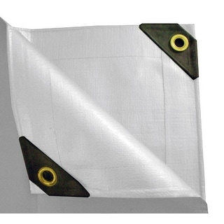 15 x 30 Heavy Duty Canopy Tarp - White