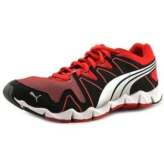 Puma Shintai Runner MP Women Round Toe Canvas Red Running Shoe