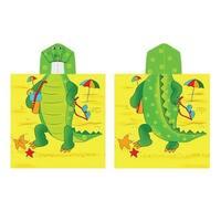 Kreative Kids Boys Girls Alligator Cap Bath Towel One Size