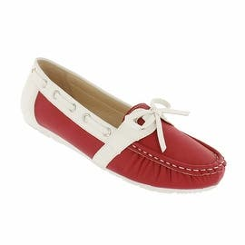 Red Circle Footwear 'London' Slip on Loafer with Bow|https://ak1.ostkcdn.com/images/products/is/images/direct/68b3a86f3d8fe797c29659669498e79848e2f583/Red-Circle-Footwear-%27London%27-Slip-on-Loafer-with-Bow.jpg?impolicy=medium